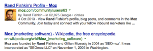 Rand Fishkin local serps profile image